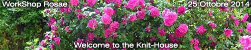 WorkShop : Rosae - Welcome to the Knit-House